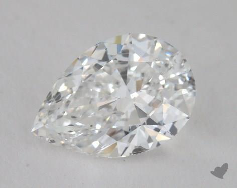 1.50 Carat E-SI1 Pear Shape Diamond
