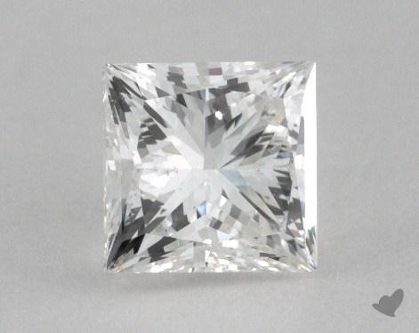 0.97 Carat G-SI1 Princess Cut Diamond