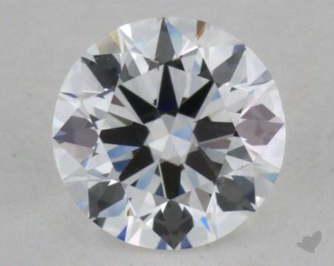 0.51 Carat F-VVS2 Excellent Cut Round Diamond