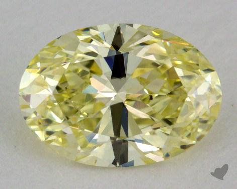 1.01 Carat fancy yellow-SI1 Oval Cut Diamond