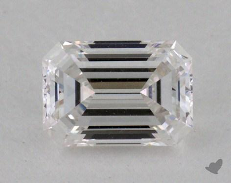 0.43 Carat E-VVS2 Emerald Cut  Diamond