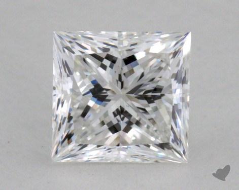 1.12 Carat F-VS2 Ideal Cut Princess Diamond