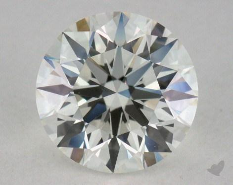 0.93 Carat J-VVS2 Excellent Cut Round Diamond