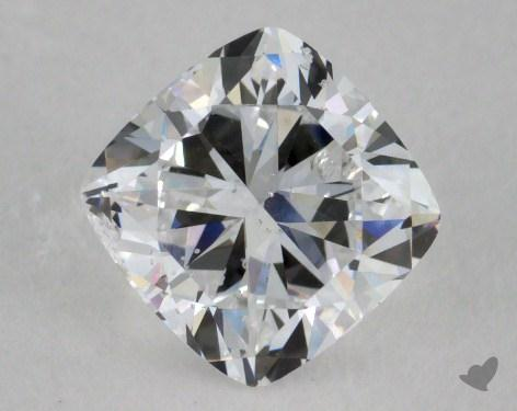 0.92 Carat D-SI2 Cushion Cut  Diamond