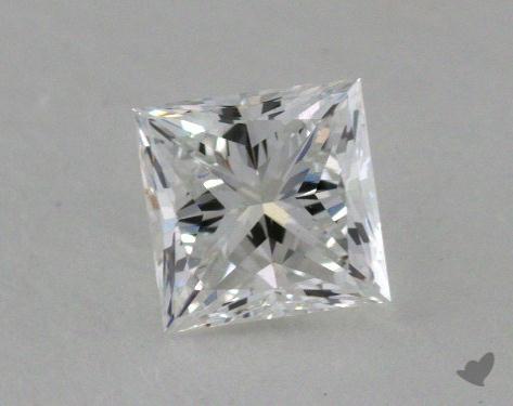 0.72 Carat E-VS1 Ideal Cut Princess Diamond
