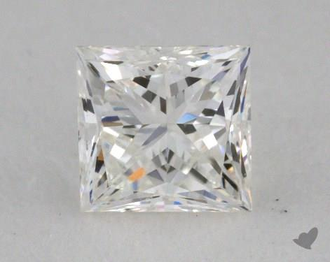0.47 Carat I-VVS1 Ideal Cut Princess Diamond