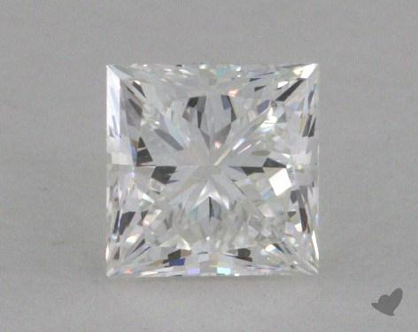 0.56 Carat F-VS2 Ideal Cut Princess Diamond