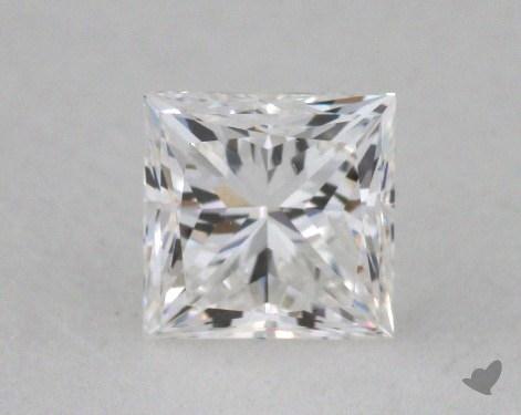 0.42 Carat G-VS2 Ideal Cut Princess Diamond