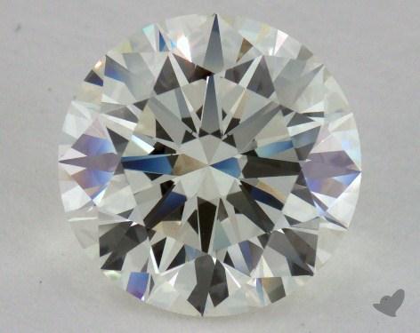3.13 Carat K-VVS1 Excellent Cut Round Diamond