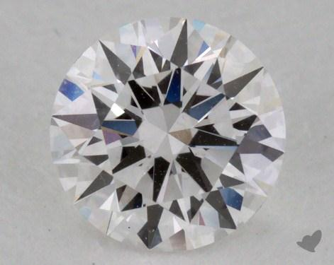 0.61 Carat F-VS1 True Hearts<sup>TM</sup> Ideal Diamond