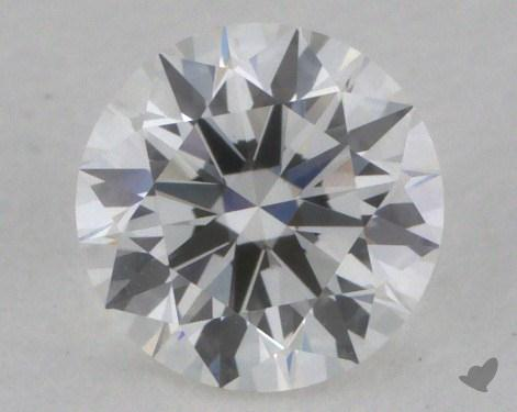 0.61 Carat F-VS1 True Hearts<sup>TM</sup> Ideal Diamond