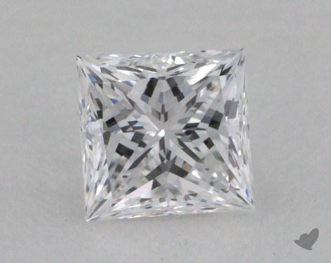 1.00 Carat D-VVS1 Very Good Cut Princess Diamond