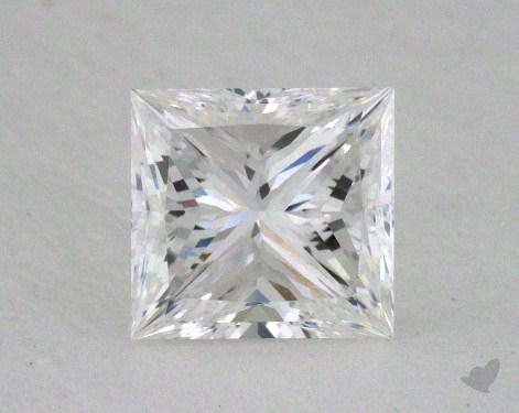 1.00 Carat E-VVS2 Ideal Cut Princess Diamond