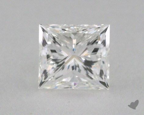 1.02 Carat F-VVS1 Good Cut Princess Diamond