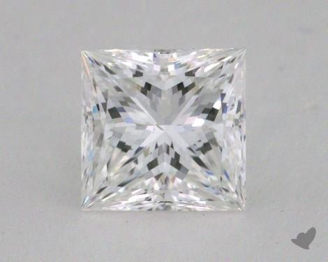 1.17 Carat F-SI1 Ideal Cut Princess Diamond
