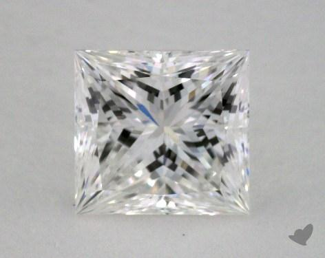 1.55 Carat G-VVS2 Ideal Cut Princess Diamond
