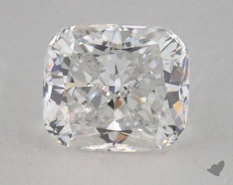 1.36 Carat E-VS2 Cushion Modified Cut  Diamond