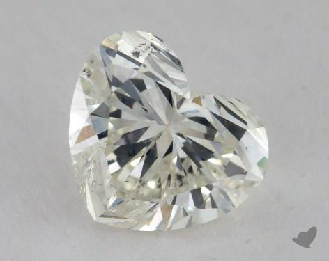 1.29 Carat K-SI1 Heart Shape Diamond