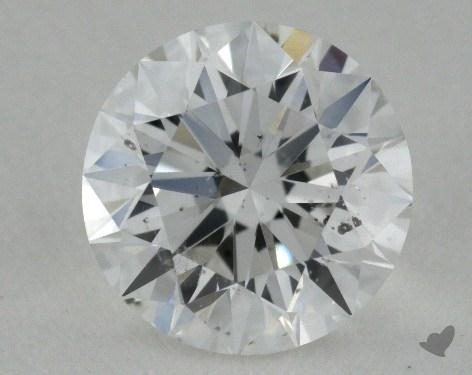 0.90 Carat E-SI2 Excellent Cut Round Diamond