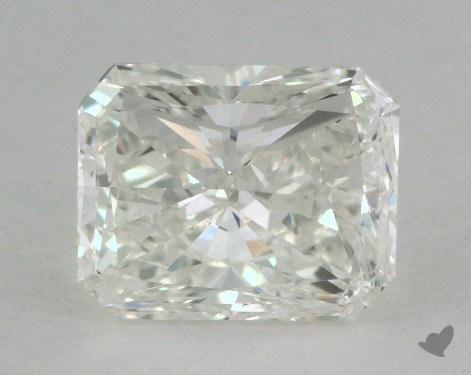 1.42 Carat I-VVS2 Radiant Cut  Diamond