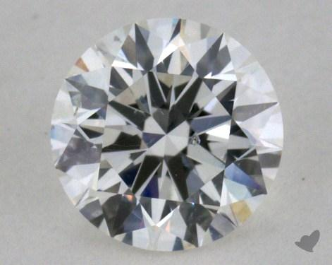 0.51 Carat G-SI1 Excellent Cut Round Diamond