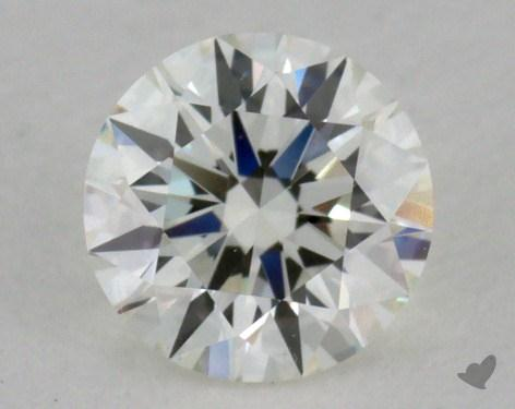 0.52 Carat H-VVS2 Excellent Cut Round Diamond