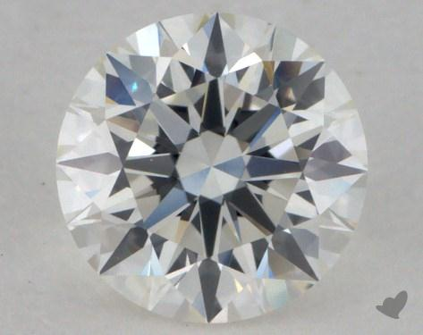 0.73 Carat H-VVS1 Excellent Cut Round Diamond