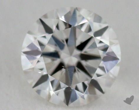 0.37 Carat H-VS2 Very Good Cut Round Diamond