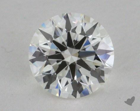 1.29 Carat H-VVS1 Excellent Cut Round Diamond