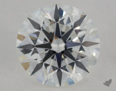 1.01 Carat F-VVS1 Ideal Cut Round Diamond