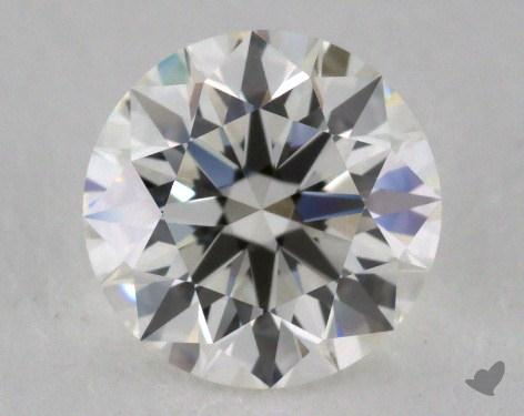 1.04 Carat H-VVS1 Excellent Cut Round Diamond 