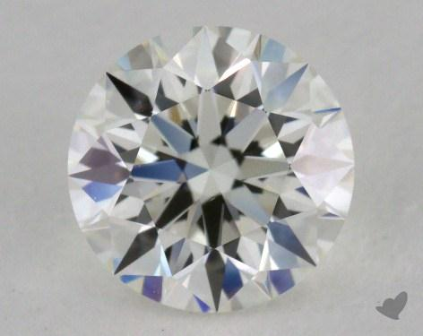 1.02 Carat H-VVS1 Excellent Cut Round Diamond
