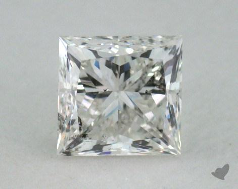 0.56 Carat H-SI2 Princess Cut  Diamond