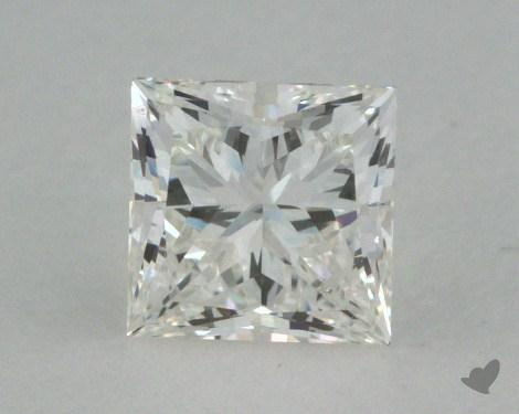 0.57 Carat H-VVS1 Ideal Cut Princess Diamond