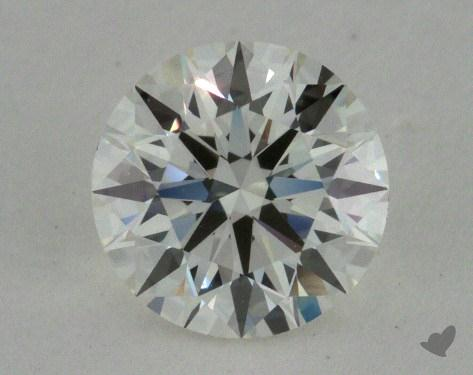 0.73 Carat I-VVS1 Excellent Cut Round Diamond