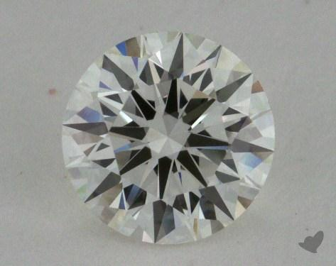 0.74 Carat I-VVS1 Excellent Cut Round Diamond