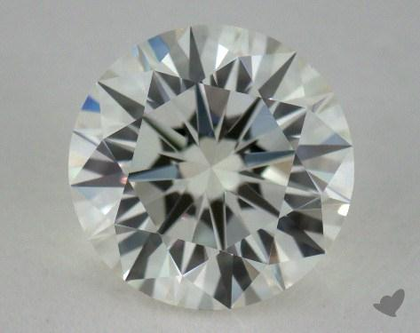 1.06 Carat H-VVS2 Excellent Cut Round Diamond