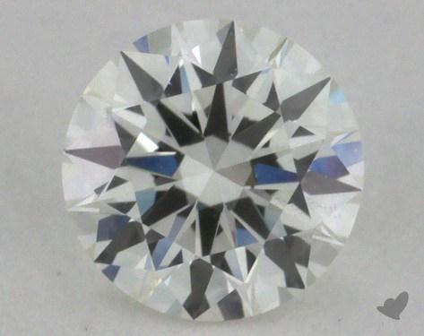 0.71 Carat H-VS1 Excellent Cut Round Diamond