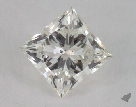 0.54 Carat J-SI1 Ideal Cut Princess Diamond
