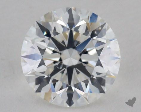 1.30 Carat F-SI1 Excellent Cut Round Diamond