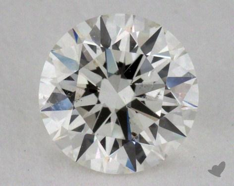 0.81 Carat H-SI1 Excellent Cut Round Diamond