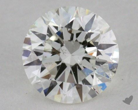 0.72 Carat I-SI2 Excellent Cut Round Diamond
