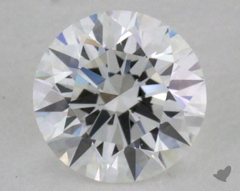 0.40 Carat F-VS1 Excellent Cut Round Diamond