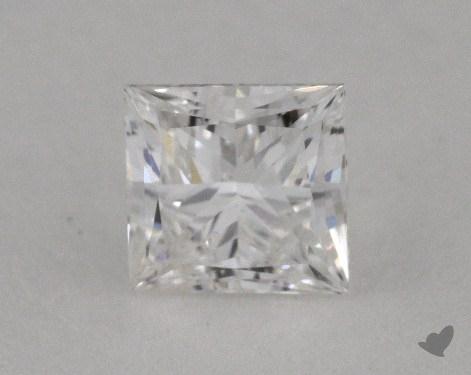 0.50 Carat F-VS2 Ideal Cut Princess Diamond