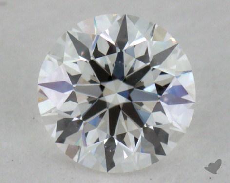 0.40 Carat F-VVS1 Excellent Cut Round Diamond