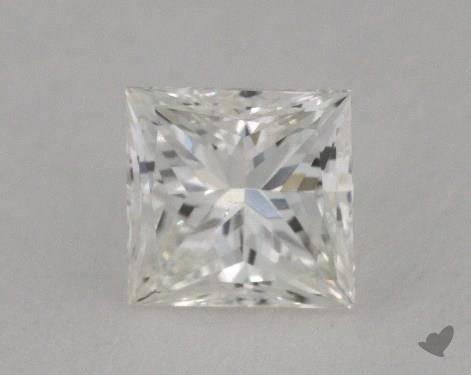 0.50 Carat G-SI1 Ideal Cut Princess Diamond