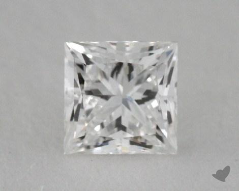 0.50 Carat F-SI1 Ideal Cut Princess Diamond
