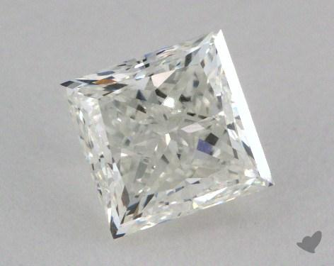 1.01 Carat H-SI1 Very Good Cut Princess Diamond