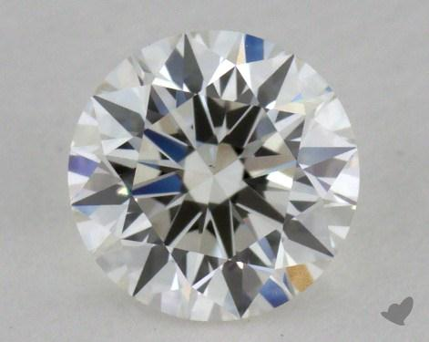 0.61 Carat H-VS1 Excellent Cut Round Diamond