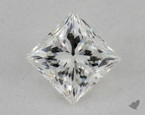 0.51 Carat I-SI1 Good Cut Princess Diamond